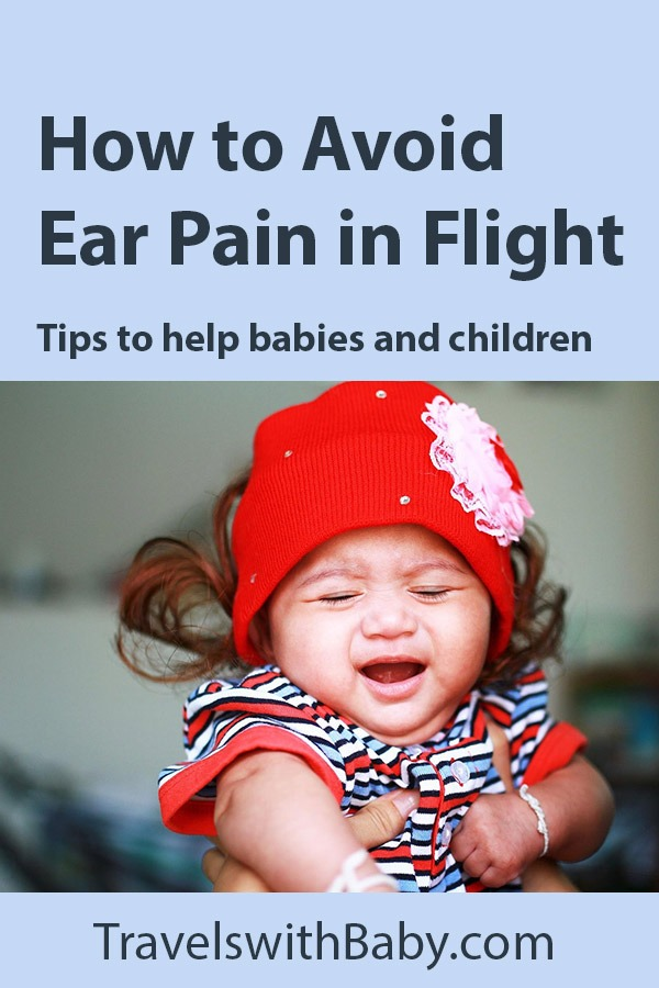 help ear pain in flight for babies and toddlers