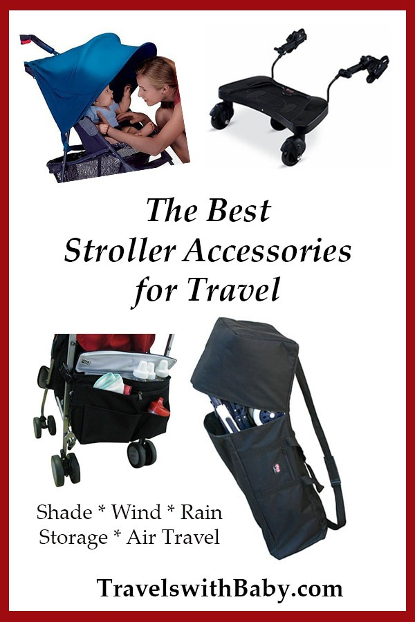 best stroller accessories for travel