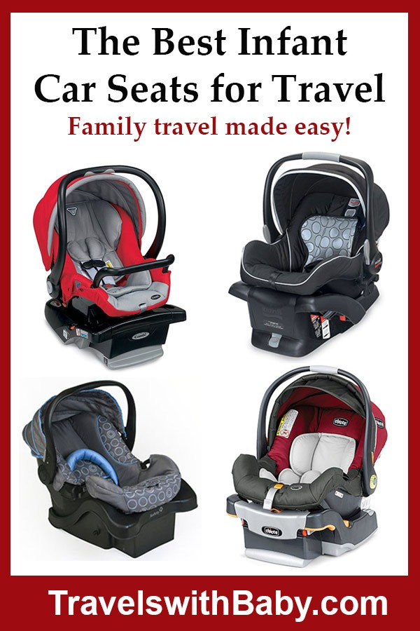 The best infant car seats for travel with a baby