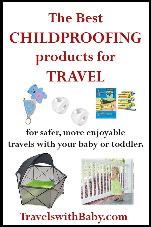 travel childproofing products