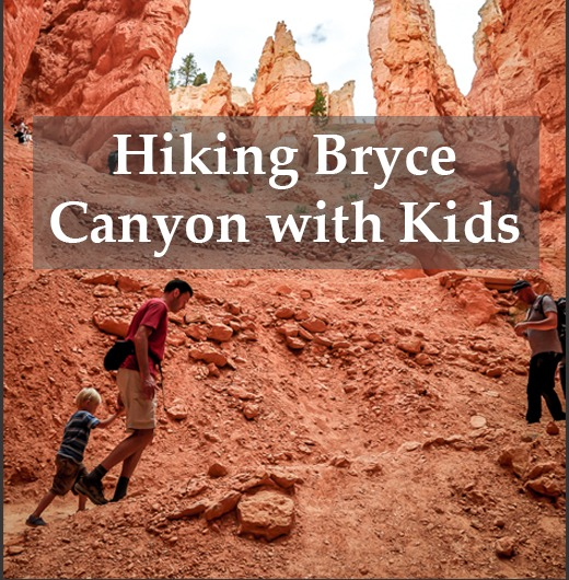 hiking Bryce Canyon National Park with kids