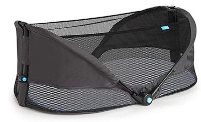 munchkin brica fold n go travel bassinet