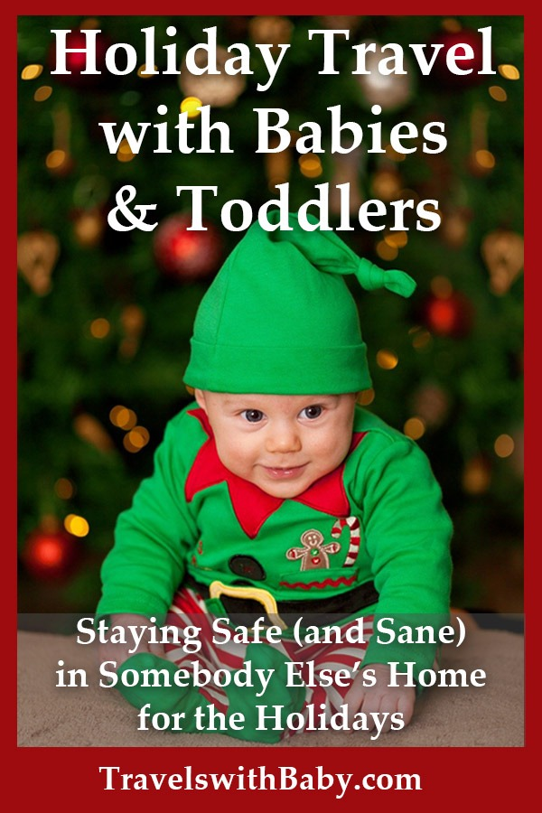safe holiday travel tips for baby and toddler