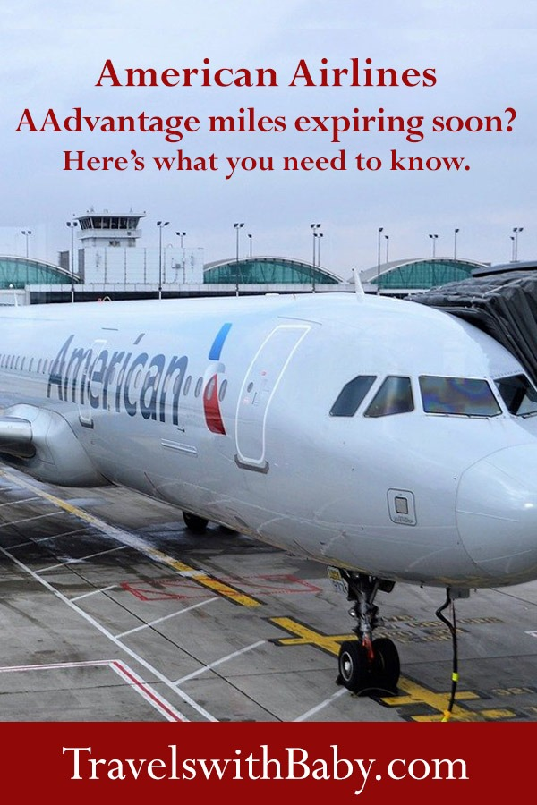 American Airlines airplane at airport