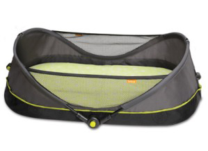 The Brica Fold n Go travel bassinet