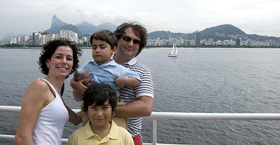 Family in Rio