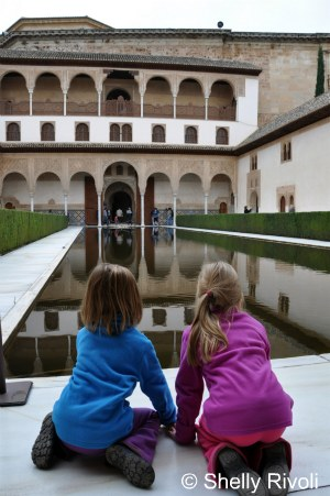 Tips for visiting the Alhambra and Nasrid Palaces at Granada, Spain.