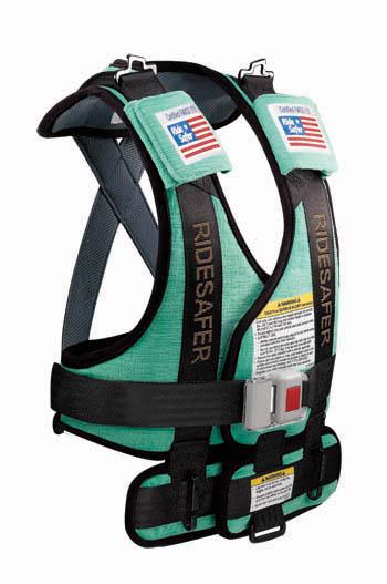 ride safer travel vest instructions