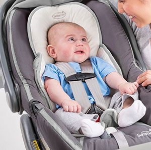 The Snuzzler Car Seat Travel Accessory