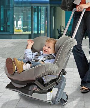 Brica Roll N Go Car Seat Transporter Mom S Best Baby
