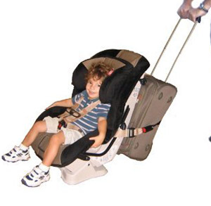 traveling toddler car seat strap