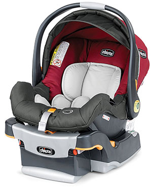 The Chicco KeyFit 30 infant car seat for travel