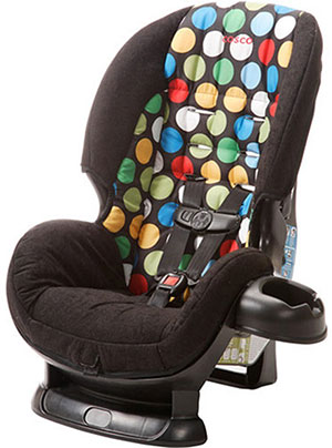Travel-friendly Cosco Scenera convertible car seat