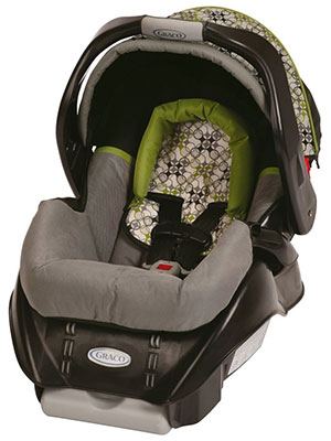 The Graco Classic Connect Snugride 22 infant car seat