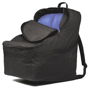 The JL Childress Ultimate Car Seat travel bag which fits many boosters as well