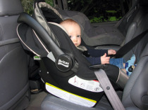 Travels with Baby Review - Britax Chaperone Infant Car Seat