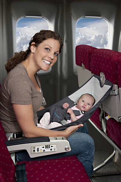 flyebaby air travel hammock for infants