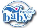 Logo for Paradise Baby Company baby rental