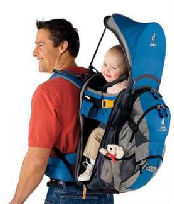 deuter hiking baby carrier