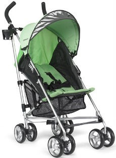 The UPPAbaby G-Luxe lightweight travel stroller
