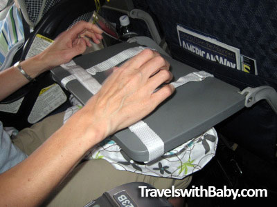 how to install the flyebaby baby hammock on airplanes review of flyebaby baby hammock for airplanes   travels with baby  rh   travelswithbaby