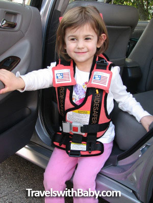 The RideSafer Travel Vest For Kids