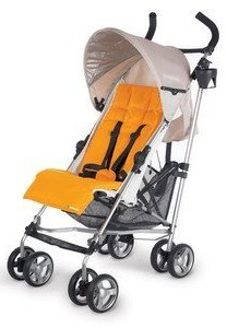 Uppa Baby G-Luxe stroller - perfect for travel and made in the USA