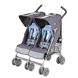 Used Maclaren Twin Triumph Double Stroller | | Double Stroller World