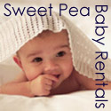 Logo for Sweet Pea Baby Rentals