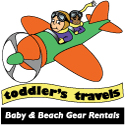 Toddler's travels baby and beach gear rentals