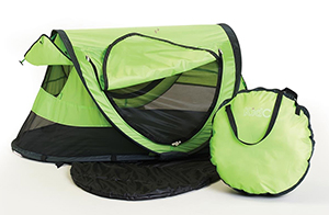 Peapod Plus portable baby travel bed