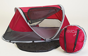 Peapod portable baby travel bed
