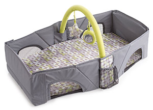 Summer Infant folding travel bed for infant