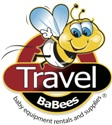 Logo for Travel BaBees baby gear rental